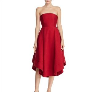 C/MEO Collective Making Waves Dress - Red Small